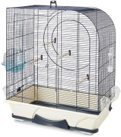 Клетка для птиц Savic Arte 50 / 55705901 (серый/кремовый/синий) -