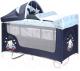 Кровать-манеж Lorelli San Remo Rocker Blue Bear (10080092072) -