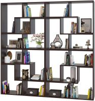 Стеллаж Сокол-Мебель Из 8 модулей (венге) -