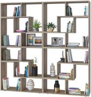 Стеллаж Сокол-Мебель Из 8 модулей (дуб делано) -
