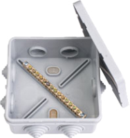 Коробка распределительная Bylectrica КУП-244 (серый) -