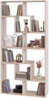 Стеллаж Сокол-Мебель Из 4 модулей (беленый дуб) -