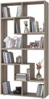 Стеллаж Сокол-Мебель Из 4 модулей (дуб делано) -