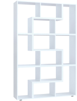 Стеллаж Сокол-Мебель Из 6 модулей (белый) -