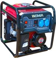 Бензиновый генератор Weima WM 4000i -