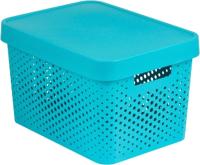 Контейнер для хранения Curver Infiniti / 04742-Х34-00 (17л, синий) -