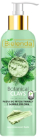 Крем для умывания Bielenda Botanical Clays веганская очищающая паста с зеленой глиной (190г) -