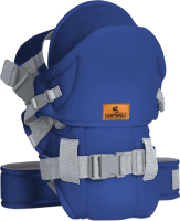 Эрго-рюкзак Lorelli Weekend Blue Grey / 10010110002 -