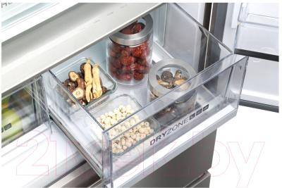 Холодильник с морозильником Haier HB18FGSAAARU