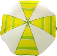 Зонт пляжный Zagorod Z160 (желтый/зеленый) -