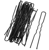 Набор шпилек для волос Флер Металлические 710-AVS (10шт, черный) -