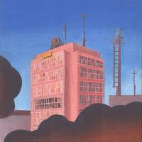 Авторская картина ХO-Gallery Здание заводоуправления / ЕХ-2020-003 -