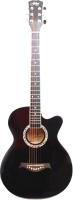 Акустическая гитара Emuse Nantong J-3901C/BK (черный) -