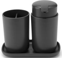 Набор аксессуаров для ванной Brabantia 280368 (темно-серый) -