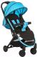 Детская прогулочная коляска Hauck Swift Plus (neon blue) -