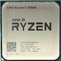 Процессор AMD Ryzen 7 2700X Box / YD270XBGAFBOX -