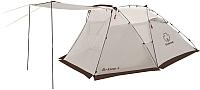 Палатка GREENELL Арклоу 4 с автоматическим каркасом (коричневый) -