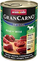 Корм для собак Animonda GranCarno Original Adult с говядиной и дичью (400г) -