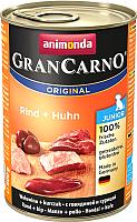Корм для собак Animonda GranCarno Original Junior с говядиной и курицей (400г) -
