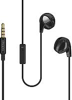 Наушники-гарнитура Deppa Stereo Air Pro / 44153 (черный) -