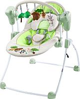 Качели для новорожденных Caretero Forest (серый) -