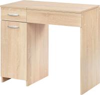 Туалетный столик с зеркалом MFMaster Риано-03 / МСТ-ТСР-03-ДС-02 (дуб сонома) -