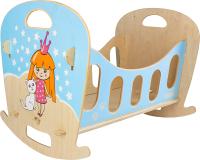 Аксессуар для куклы Woody Кроватка-качалка. Звёздочка / 02741 -