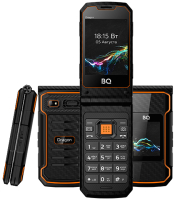 Мобильный телефон BQ Dragon BQ-2822 (черный/оранжевый) -