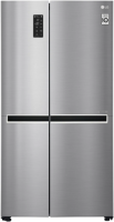 Холодильник с морозильником LG GC-B247SMDC -