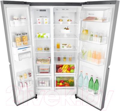Холодильник с морозильником LG DoorCooling+ GC-B247SMDC