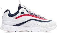 Кроссовки Fila Ray 1CM00501-125 / CM00500129 (р-р 9.5, белый/темно-синий/красный) -