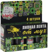 Лента от мух Help 80241 (4шт) -