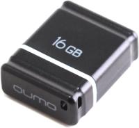 Usb flash накопитель Qumo Nano 16GB Black / QM16GUD-NANO-B -