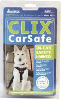 Ремень безопасности для собак Halti CLIX CarSafe с ремнем безопасности / LC03 (L, черный) -
