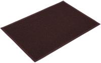 Коврик грязезащитный VORTEX 60x90 / 22200 (коричневый) -