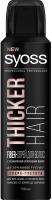 Спрей для укладки волос Syoss Thicker Hair Fiber с технологией уплотнения волос (150мл) -