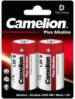 Комплект батареек Camelion LR20-BP2 -