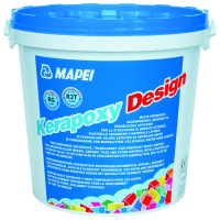 Фуга Mapei Kerapoxy Design 799 (3кг, белый) -