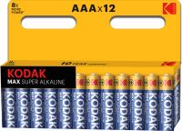 Комплект батареек Kodak Max LR03 BL-12 (Б0008960) -