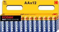 Комплект батареек Kodak Max LR6 BL-12 (Б0008961) -