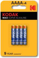 Комплект батареек Kodak MAX LR61-4BL (K4A-4/Б0046504) -