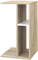 Приставной столик Mobi Лайт 03.290 (дуб серый craft K 002 PW/белый премиум) -