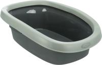 Туалет-лоток Trixie Be Eco Carlo / 40211 (антрацит/серый) -