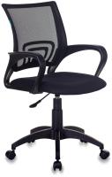 Кресло офисное Бюрократ CH-695NLT/Black (сетка черный/черный, TW-01/TW-11) -