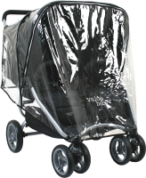 Дождевик для коляски Valco Baby Raincover Two Hoods / Snap Duo -