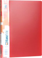 Папка для бумаг Kanzfile 05М-20K (красный) -