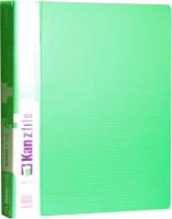 Папка-регистратор Kanzfile 10Q-2K (зеленый) -