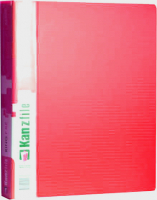 Папка-регистратор Kanzfile 10Q-2K (красный) -