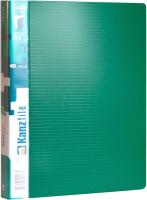 Папка-регистратор Kanzfile 07Q-4K (зеленый) -