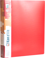 Папка-регистратор Kanzfile 10Q-4K (красный) -